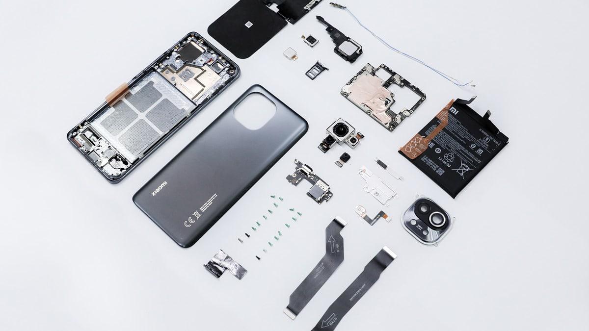 Komponen Xiaomi Mi 11